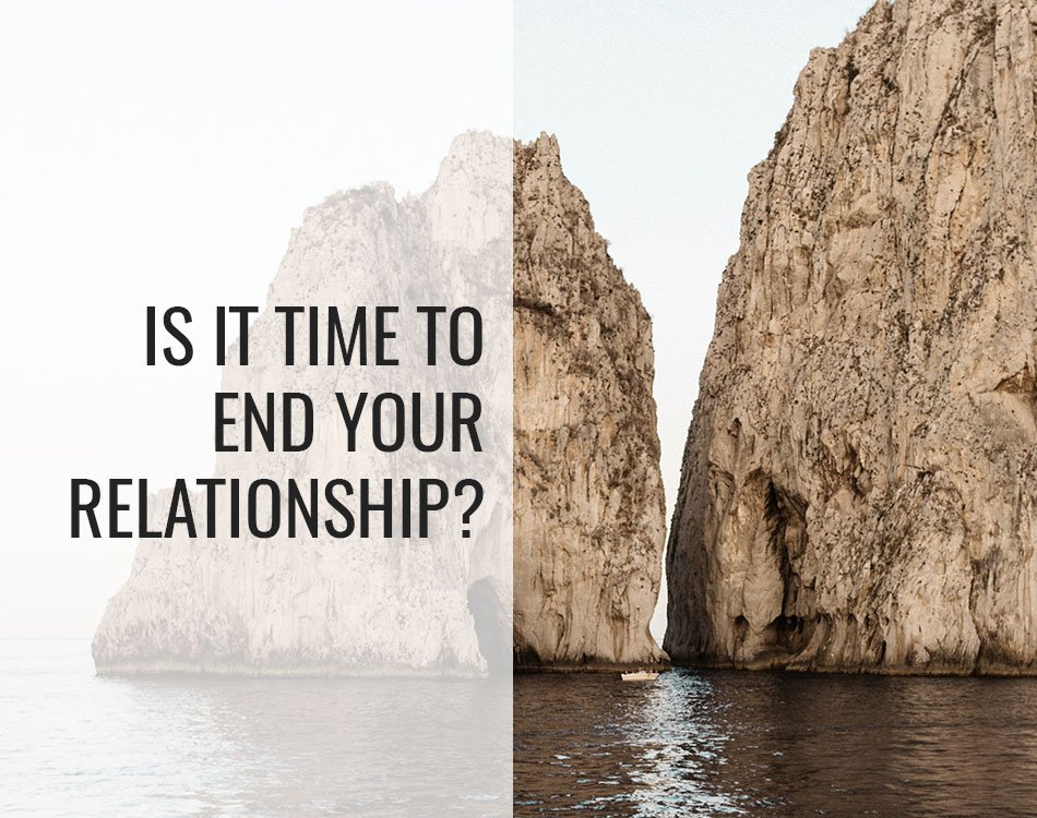 end relationship
