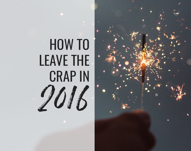 leave the crap