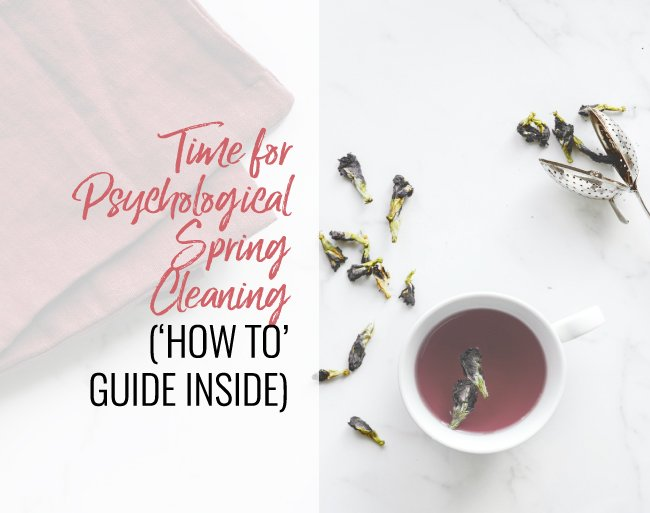 psychological spring cleaning