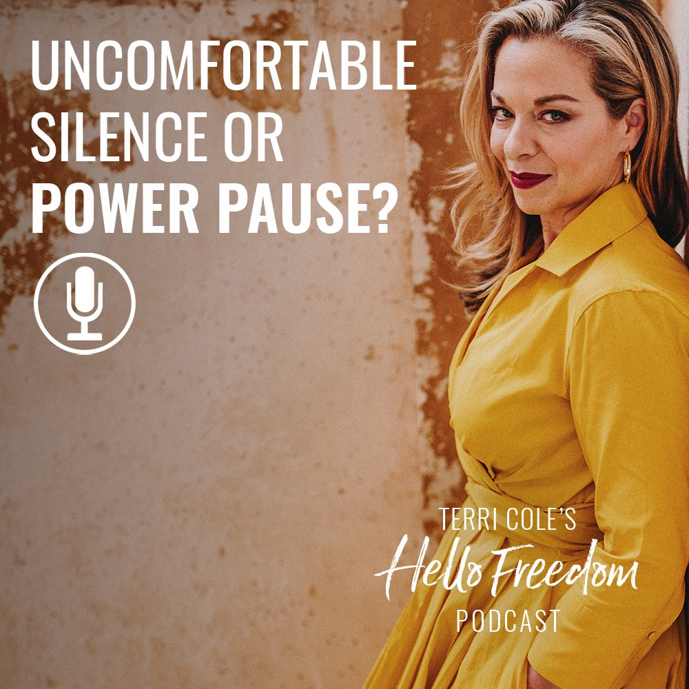 Power Pause on Hello Freedom with Terri Cole