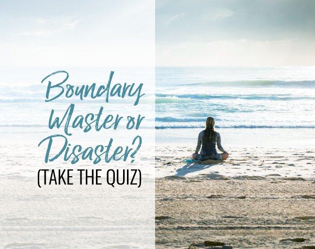 boundary quiz