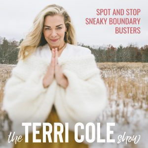 Spot and Stop Sneaky Boundary Busters on The Terri Cole Show